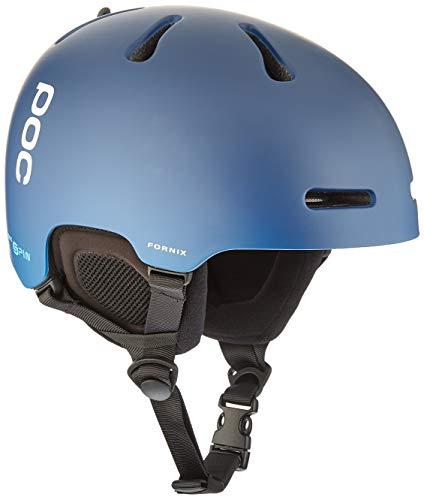 POC Fornix Spin Casco, Unisex-Adult, Lead Blue, M-L (55-58cm)