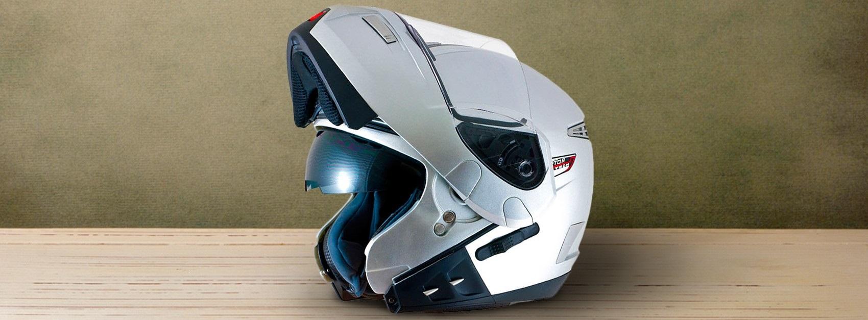 Casco de Moto tipo Jet 26