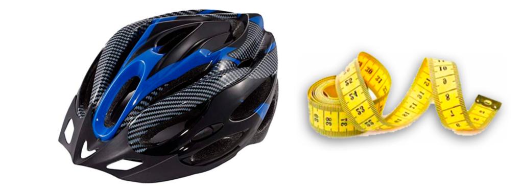 medidas casco bicicleta